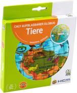 Aufblasbarer Globus Tiere - 30 cm