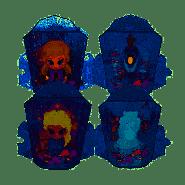 Die Eiskönigin 2 - Eiskristall mit Leuchtfigur - 1 Stück, zufällige Auswahl, keine Vorauswahl möglich