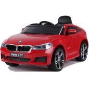 BMW 6GT Kinder Elektro Auto 2x25W 12V 4Ah 2. 4G RC GT6 Rot