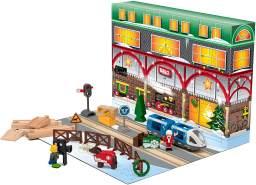 Brio Adventskalender 2020 - Eisenbahn Weihnachtskalender mit 24 Teilen - 33848