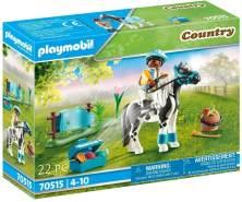 """Playmobil Country 70515 'Sammelpony """"Lewitzer""""', 22 Teile, ab 4 Jahren"""