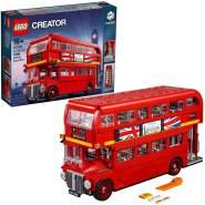 LEGO Creator Expert 10258 'Londoner Bus', 1686 Teile, ab 16 Jahren, Doppeldeckerbus mit authentischen Details