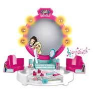 Theo Klein 5391 Soundfuntion Barbie Schönheitsstudio mit Licht-und Soundfunktion