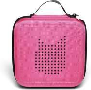 Tonies 'Tonie-Transporter' Transporttasche Pink, Box zur Aufbewahrung von bis zu 20 Tonies Hörfiguren, leicht, abwaschbar, Reißverschluss, 17,5 x 17,5 cm