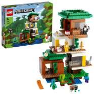 LEGO Minecraft 21174 'Das moderne Baumhaus', 909 Teile, ab 9 Jahren