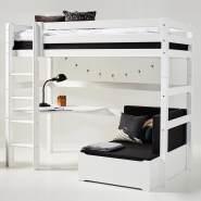 Hoppekids 'Premium' Funktionsbett weiß, inkl. Ausstattung, inkl. Lattenrost