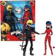Bandai - Miraculous Ladybug und Cat Noir,ca. 26cm
