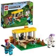 LEGO Minecraft 21171 'Der Pferdestall', 241 Teile, ab 8 Jahren