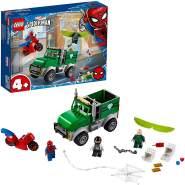 LEGO Marvel Spider-Man 76147 'Vultures Lkw-Überfall', 93 Teile, ab 4 Jahren, für junge Baumeister