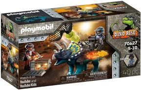 Playmobil Dino Rise 70627 'Triceratops: Randale um die legendären Steine', 40 Teile, ab 5 Jahren