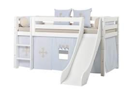 Hoppekids 'Premium' Halbhochbett weiß, 90x200 cm