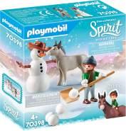 PLAYMOBIL 70398 Schneespaß mit Snips & Herrn Karotte