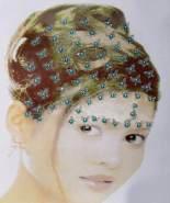 Haardekorations-Sticker, sort. Farben, 1 Stück - Auswahl erfolgt zufällig