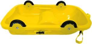Jamara 'Bob 2in1 Sommer/Winter' gelb, 77 cm, Fahrspaß in Sommer und Winter, ab 2 Jahren
