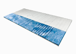 AM Qualitätsmatratzen | 7-Zonen Deluxe Gelschaum-Topper 180x220 cm - 8 cm Höhe