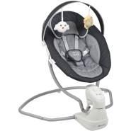 BabyGo Elektrische Babyschaukel Cuddly Anthrazit