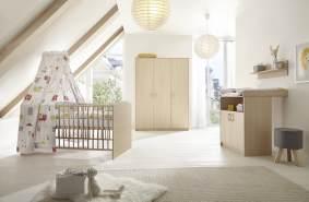 Schardt 'Classic Buche' 3-tlg. Babyzimmer-Set Schrank 3-türig