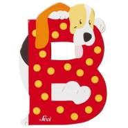 Sevi | Buchstabe Tiere | B | Beagle | Rot