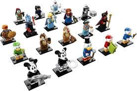 LEGO Minifiguren 71024 'Die Disney Serie 2', 7 Teile, ab 5 Jahren, 1x Figur, zufällige Auswahl