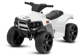 Kidcars Kinder Elektro Offroad Panda ATV Geländewagen 25W 6V 4. 5Ah Weiss