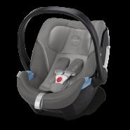 Moon 'Nuova' Kombikinderwagen 3 in 1 2021 Anthrazit inkl. Babywanne und Babyschale Cybex Aton 5 Soho Grey