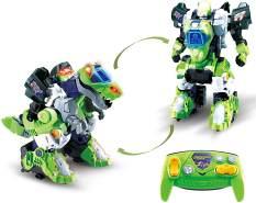 VTech 80-521064 Switch & Go Dinos 'RC Roboter T-Rex' 2-in1 Spielzeugdinosaurier und ferngesteuerter Roboter, automatische Verwandlung, ab 3 Jahren