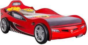 Cilek 'Racecup' Autobett rot 90x190