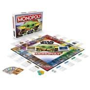 """Monopoly 'Star Wars - Das Kind' Brettspiel, ab 8 Jahren, 2-4 Spieler, im Design der TV-Serie """"The Mandalorian"""""""