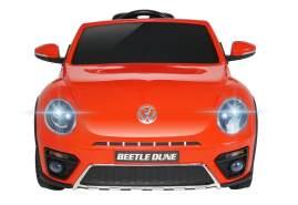 Kidcars Kinder Elektro Auto VW Volkswagen Beetle 2x 25W 12V 4. 5Ah Rot