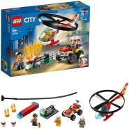 LEGO City 60248 'Einsatz mit dem Feuerwehrhubschrauber', 93 Teile, ab 5 Jahren