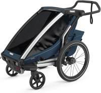 Thule 'Chariot Cross 1' Fahrradanhänger 2021 Majolica Blue, 1-Sitzer