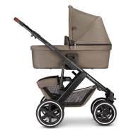 ABC Design 'Salsa 4 Air' Kombikinderwagen 3 in 1 Nature inkl. Sportsitz, Babywanne, Cybex Aton 5 Babyschale Soho Grey