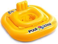 INTEX Deluxe Pool School Sicherheitsring - Baby-Schwimmsitz