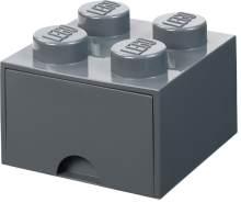 Room Copenhagen 'LEGO Storage Brick Drawer 4' Aufbewahrungsbox dunkelgrau