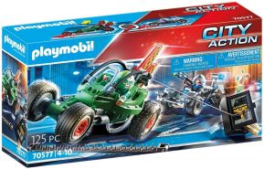 Playmobil City Action 70577 'Polizei-Kart: Verfolgung des Tresorräubers', 125 Teile, ab 4 Jahren